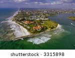 Aerial View Of Naples Florida...