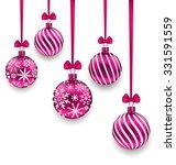Illustration Christmas Pink...