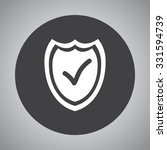 shield sign icons  vector... | Shutterstock .eps vector #331594739