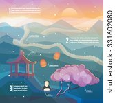 china infographics. china... | Shutterstock .eps vector #331602080