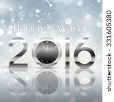 happy new year background with... | Shutterstock .eps vector #331605380