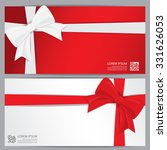 christmas holiday and new year gift voucher certificate coupon template. can be use for business shopping card, customer sale and promotion, layout, banner, web design. vector illustration