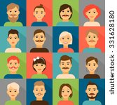 user avatars | Shutterstock . vector #331628180