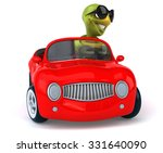 fun turtle | Shutterstock . vector #331640090