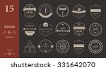 set of badges and logos cycling.... | Shutterstock .eps vector #331642070