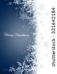 christmas background | Shutterstock . vector #331642184