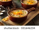 Homemade Beer Cheese Soup With...