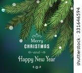 vector background. winter... | Shutterstock .eps vector #331646594