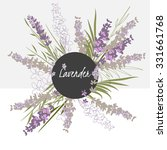 Illustration Lavender Flower...