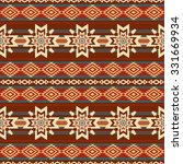abstract ethnic textil pattern... | Shutterstock .eps vector #331669934
