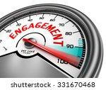 engagement to hundred per cent... | Shutterstock . vector #331670468