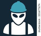 alien builder vector icon.... | Shutterstock .eps vector #331677674
