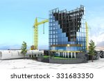 Abstract 3d Of Building...