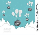 businessman tax concept.vector... | Shutterstock .eps vector #331693706
