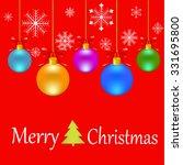christmas art | Shutterstock .eps vector #331695800