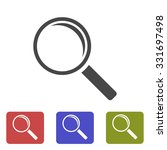 search icon. vector  eps 10  | Shutterstock .eps vector #331697498
