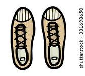 shoe   cartoon vector and...   Shutterstock .eps vector #331698650