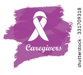 ribbon with plum color brush... | Shutterstock .eps vector #331709318