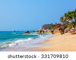 morning on lamai beach. koh... | Shutterstock . vector #331709810