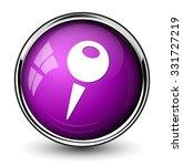 map pin button | Shutterstock .eps vector #331727219