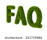 concept of frequently asked... | Shutterstock . vector #331729886