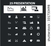 business presentation  charts ... | Shutterstock .eps vector #331733498