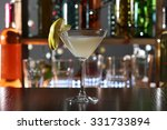cocktail decorated with peaces... | Shutterstock . vector #331733894