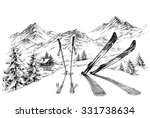 Holidays At Ski Background ...