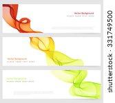 abstract template horizontal... | Shutterstock .eps vector #331749500