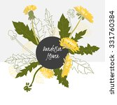 Illustration Dandelion Flower...