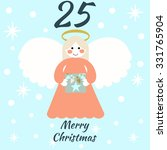 advent calendar. vector... | Shutterstock .eps vector #331765904