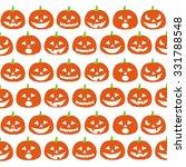 halloween pumpkins | Shutterstock .eps vector #331788548