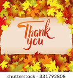 autumn background with... | Shutterstock .eps vector #331792808