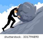 vector illustration of a man... | Shutterstock .eps vector #331794890