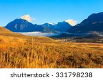 mountain landscape   peaks and... | Shutterstock . vector #331798238