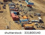construction site mess. | Shutterstock . vector #331800140