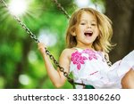 playing child. | Shutterstock . vector #331806260