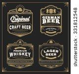 classic vintage frame for... | Shutterstock .eps vector #331812548