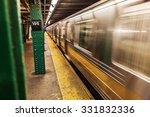 Subway In New York City