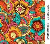 hand drawn seamless pattern...   Shutterstock .eps vector #331832633