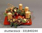 beautiful christmas decoration... | Shutterstock . vector #331840244