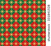 seamless christmas wrapping... | Shutterstock .eps vector #331841528