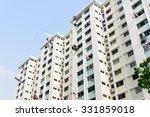 Dense Of Hdb Housing Flats Wit...