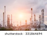 oil refinery factory in the...