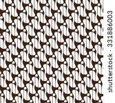 traditional batik seamless... | Shutterstock .eps vector #331886003