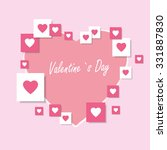 happy valentines day | Shutterstock .eps vector #331887830