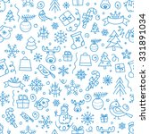 christmas season vector... | Shutterstock .eps vector #331891034