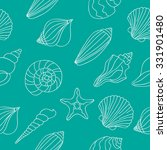 Seamless Vector Pattern Of Sea...