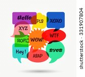 speech bubbles | Shutterstock . vector #331907804