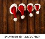 christmas family santa claus... | Shutterstock . vector #331907834